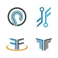 illustration d'images abstraites logo