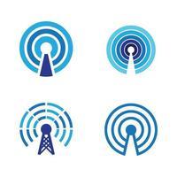 illustration d'images logo wireles