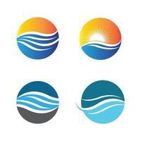 images de logo coucher de soleil