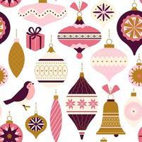 modèle sans couture. décor de Noël. peut être utilisé pour le fond, le papier d'emballage, le tissu, la conception de surface, la couverture, etc.