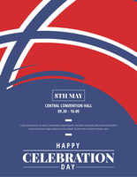 Affiche de la Journée norvégienne de la libération