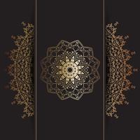 Fond de mandala décoratif vecteur