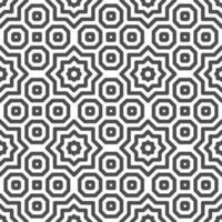 motif abstrait de formes étoiles arabes octogonales sans soudure motif géométrique abstrait à des fins de conception diverses. vecteur