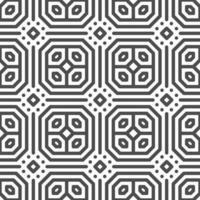 modèle abstrait de formes hexagonales octogonales sans soudure. motif géométrique abstrait à des fins de conception diverses. vecteur