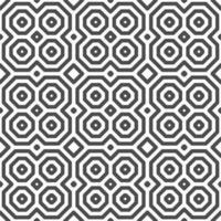 motif abstrait de formes carrées octogonales sans soudure. motif géométrique abstrait à des fins de conception diverses. vecteur