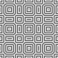 motif de formes carrées abstraites point octogonal sans soudure. motif géométrique abstrait à des fins de conception diverses. vecteur