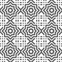 motif abstrait de formes étoiles arabes sans soudure. motif géométrique abstrait à des fins de conception diverses. vecteur