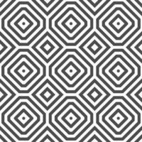 motif abstrait de formes de point carré octogonal sans soudure. motif géométrique abstrait à des fins de conception diverses. vecteur