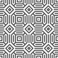 motif abstrait de formes carrées hexagonales octogonales sans soudure. motif géométrique abstrait à des fins de conception diverses. vecteur