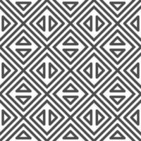 modèle de formes abstraites triangle carré octogonal sans soudure. motif géométrique abstrait à des fins diverses. vecteur