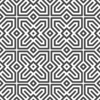 motif abstrait de formes carrées étoile arabe hexagonale sans soudure. motif géométrique abstrait à des fins de conception diverses. vecteur