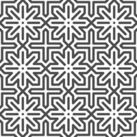 motif de formes étoiles arabes sans soudure abstraite point hexagonal. motif géométrique abstrait à des fins de conception diverses. vecteur