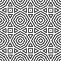 modèle de formes abstraites triangle carré octogonal sans soudure. motif géométrique abstrait à des fins de conception diverses. vecteur