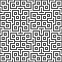 motif abstrait de formes de zigzag carré centré sans soudure motif géométrique abstrait à des fins de conception.