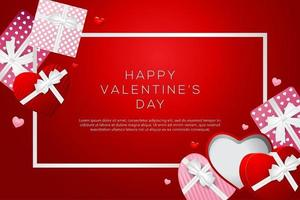 joyeux fond de la saint-valentin