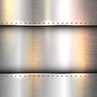 Texture métallique abstraite vecteur