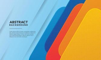 conception de fond abstrait coloré vecteur