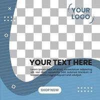 vecteur de conception de fond de formes abstraites. pour le modèle de publication de fond sur les médias sociaux
