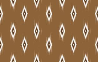 Abstrait ethnique oriental ikat transparente motif traditionnel vecteur