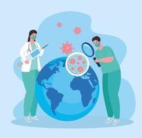 recherche de vaccins médicaux pour le coronavirus