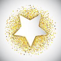 Triangles de confettis 3001 vecteur