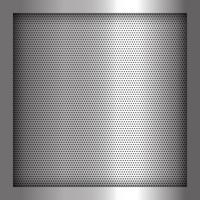 Fond en métal argenté