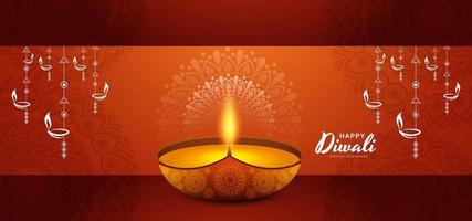 carte pour fond de célébration joyeux festival diwali