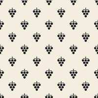 motif de timbre de raisin monochrome sans soudure de fond