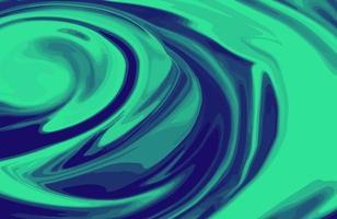 fond de texture de marbre liquide bichromie abstraite. conception de papier peint marbré agate à la mode avec des tourbillons de marbre de style luxe naturel vecteur