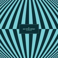 ton bleu abstrait de fond de conception de couverture de motif de ligne de bande minimale. illustration vectorielle
