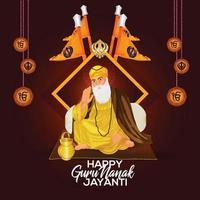 fond de célébration joyeux gurpurab