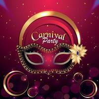 voeux de fête de carnaval