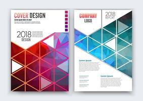 modèle de mise en page de conception flyer brochure vecteur, format a4. conception de courbe, mise en page élégante avec espace pour le texte et les images.