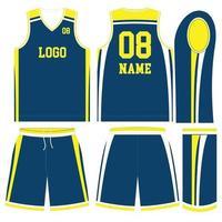 maillot et short d'uniformes de football américain de conception personnalisée vecteur