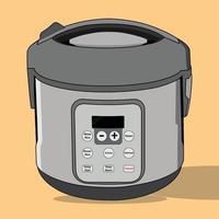 vecteur de cuiseur à riz, parfait pour le projet de conception