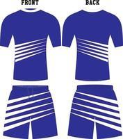 hommes chemises de compression shorts conception personnalisée vecteur