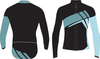 dessins de maillots de cyclisme personnalisés vecteur
