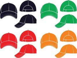 conception de vecteur de casquette de baseball