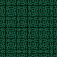 puzzle motif abstrait design fond vert et noir vecteur