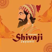 design plat de chhatrapati shivaji jayanti