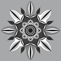 motif circulaire en forme de mandala, ornement décoratif en style oriental, fond de conception de mandala ornemental Vecteur gratuit
