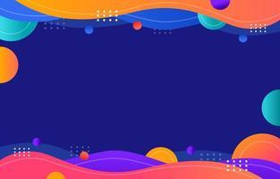fond abstrait coloré vecteur