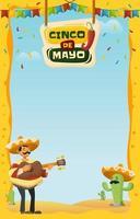 une guitare mexicaine pour cinco de mayo