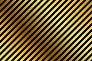 fond de rayures noires et or