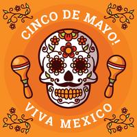 Illustration de Cinco De Mayo vecteur