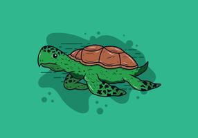 Vecteur de tortues
