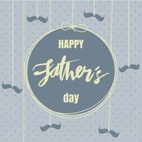 Heureuse fête des pères Illustration vectorielle vecteur