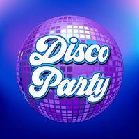 fond de soirée disco pour affiche ou flyer vecteur