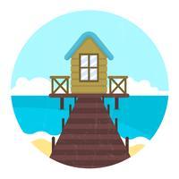 Maison de plage