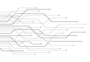 abstrait avec texture de circuit imprimé de technologie. illustration de la carte mère électronique. concept de communication et d'ingénierie. illustration vectorielle vecteur